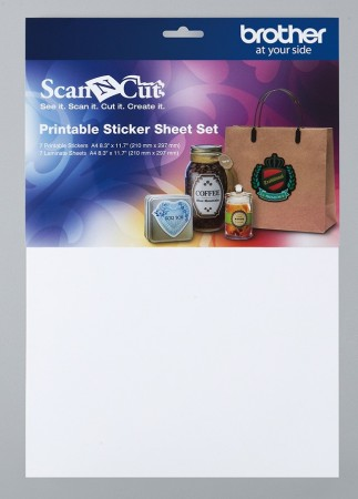 Printable sticker sheet set