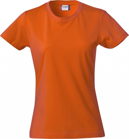 Clique Basic-T Ladies orange