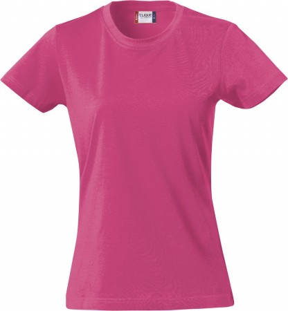 Clique Basic-T Ladies Bright Cerise
