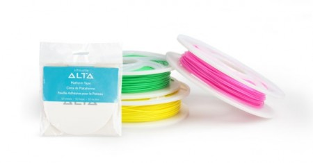 1,75mm PLA fillament til Silhouette Alta 3D printer.